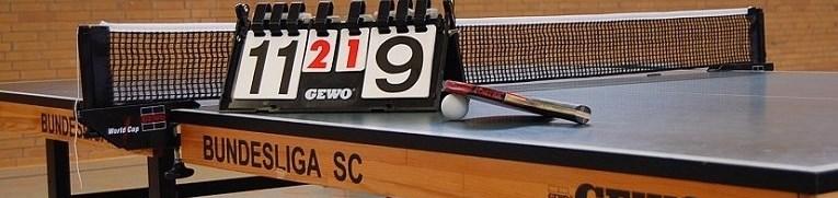 Banner Tischtennis
